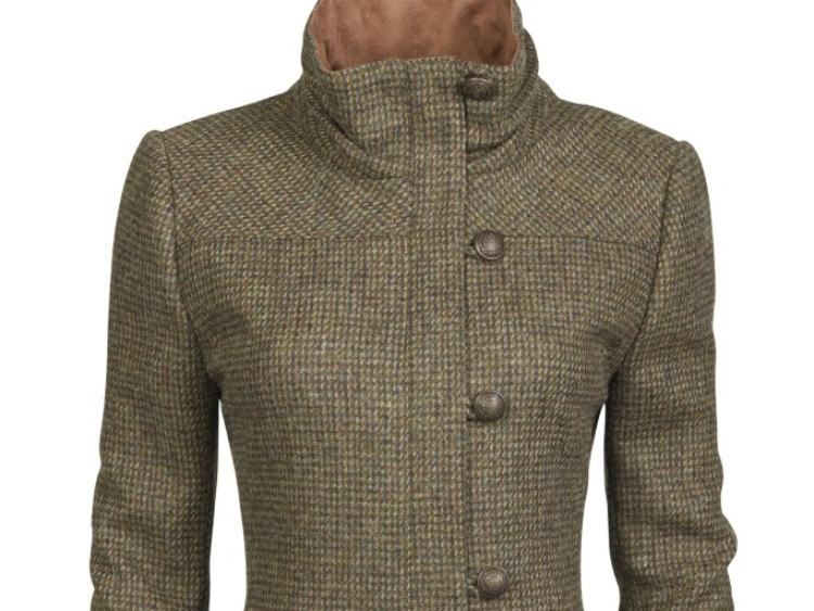 4c801c3acbf96 Her Dubarry Bracken Heath jacket is made using tweed from a Tipperary  company
