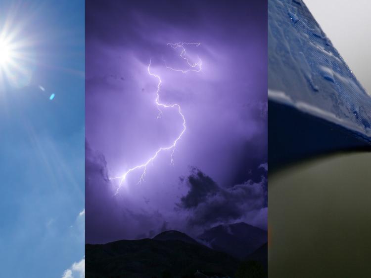 Thunder warning in place for Galway, Roscommon, Sligo, Leitrim