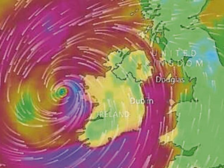 Storm Helene could reach eastern parts of Northern Ireland