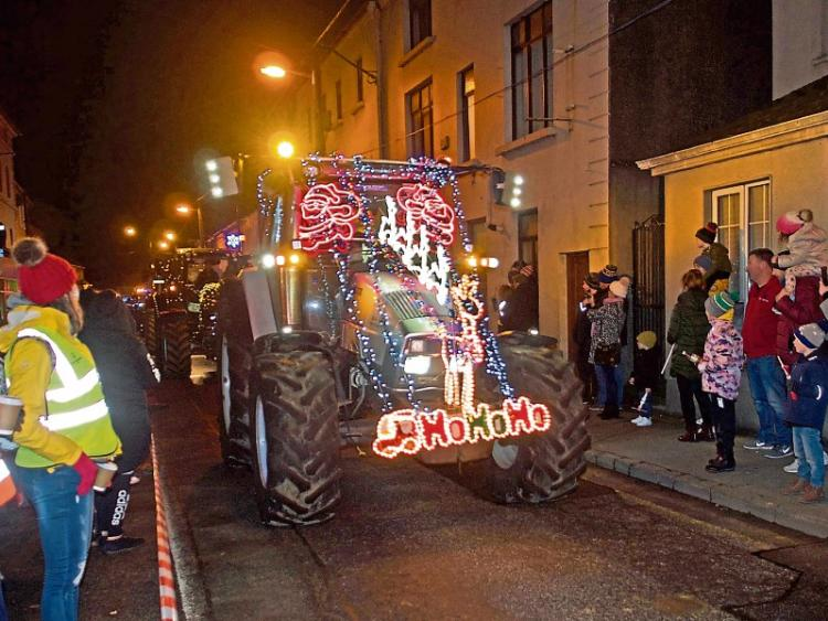 Parade Of Tractors Decorated With 100 000 Fairy Lights