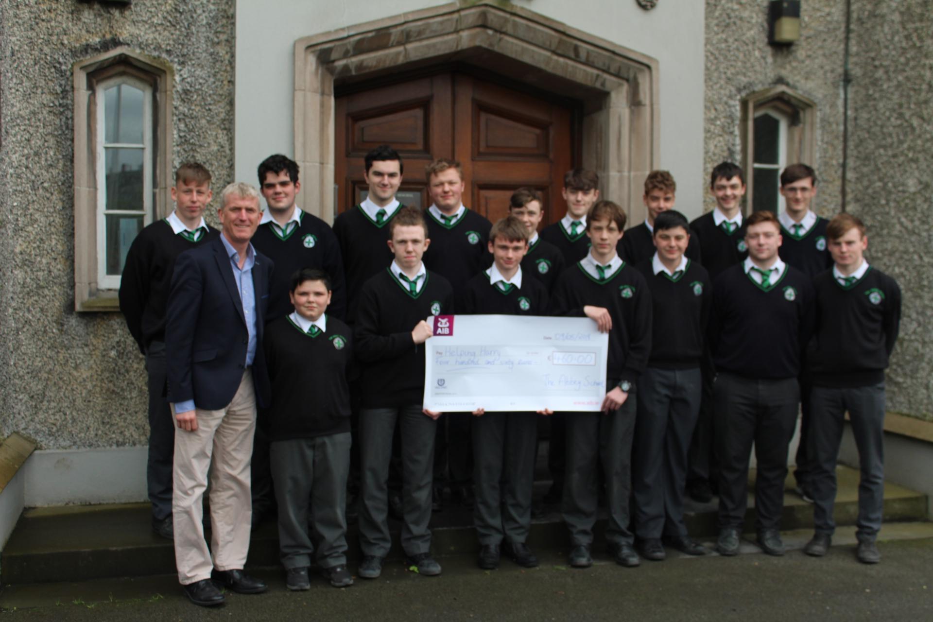 Abbey School Tipperary Helping Harry