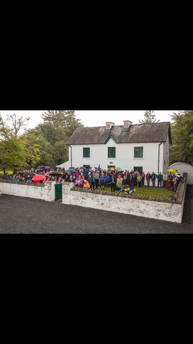 Walkers after completing the Walk to the Famine Warhouse