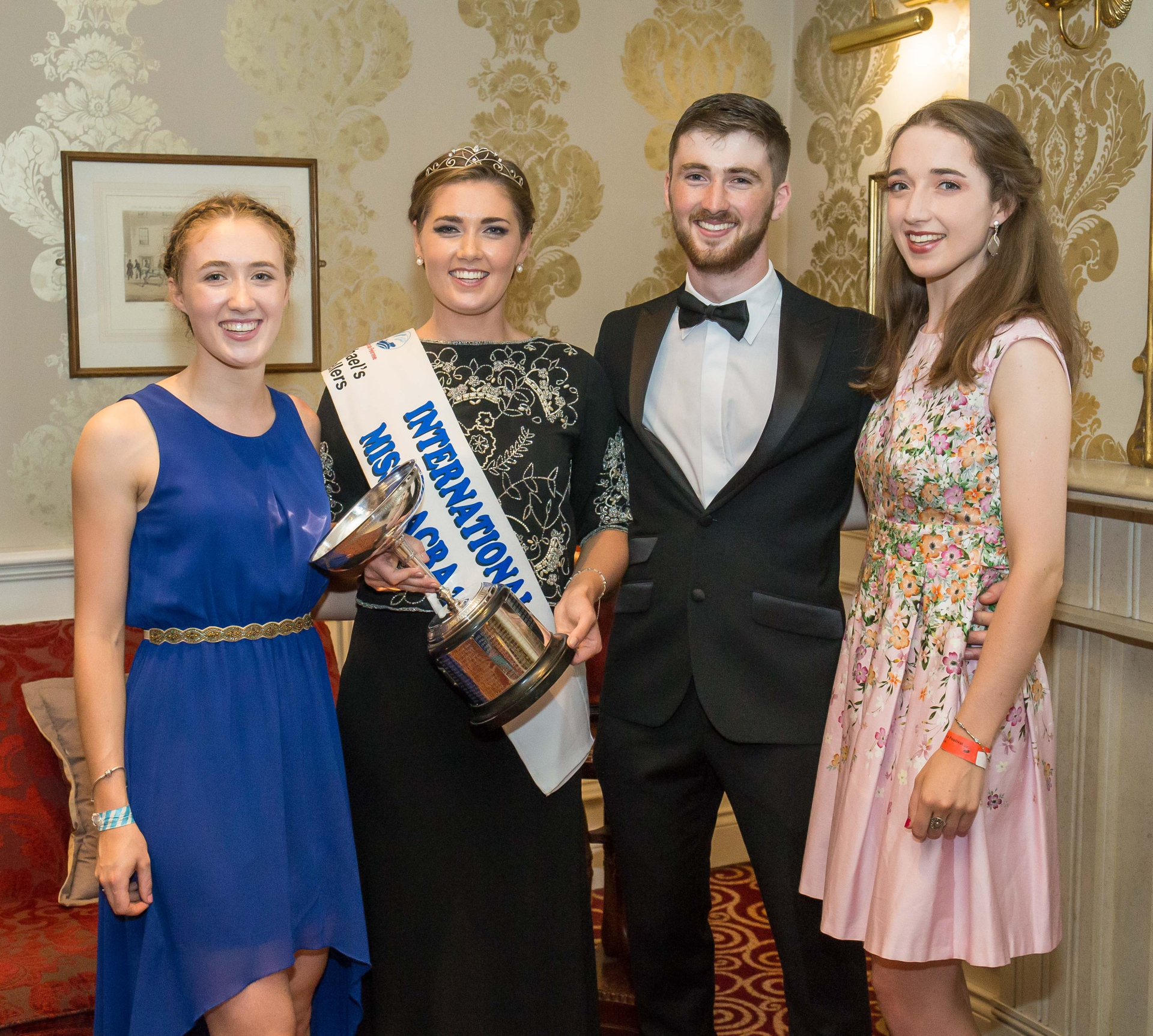 Josephine O'Neill and family Miss Macra